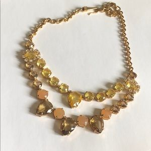 Gold & gems necklace.
